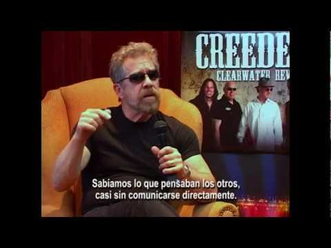Entrevista a Creedence Clearwater Revisited en Chile 2012 - Back to Rock