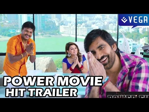 Ravi Teja's Power Movie Super Hit Latest Trailer - Hansika,