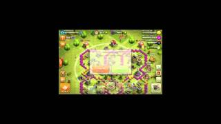 Clash of clans showing my base..... #1