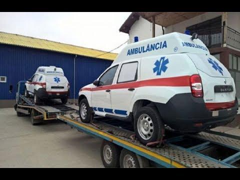mistotvpoltava: Гадяч – презентація авто швидкої допомоги