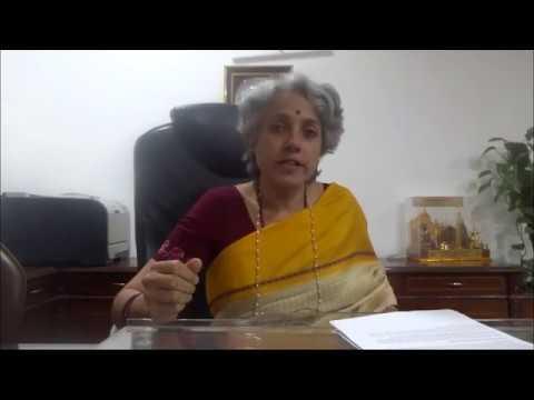 Dr Saumya Swaminathan , DG, ICMR Partner, Smart India Hackathon 2017