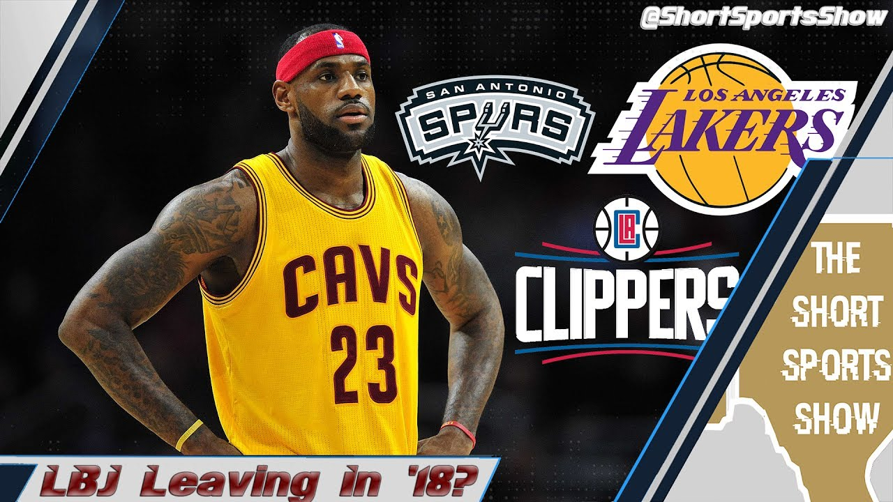 5dc100a27462 LeBron James Should Join the San Antonio Spurs in 2018 - YouTube