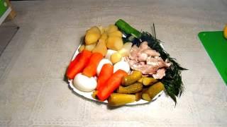 GVK : Оливье. Оригинальный рецепт оливье. Готовим самое вкусное оливье.