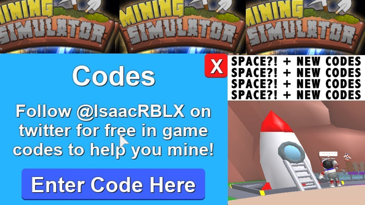 Codes For Space Mining Simulator