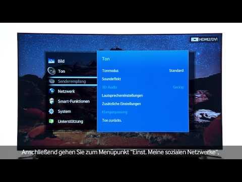 Samsung SMART TV - AllShare [Video Tutorial 2013]