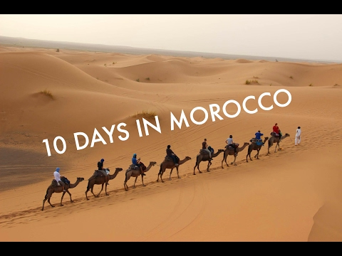 TRAVELING TO MOROCCO. SAHARA DESERT TOUR