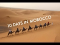 TRAVELING TO MOROCCO. SAHARA DESERT TOUR