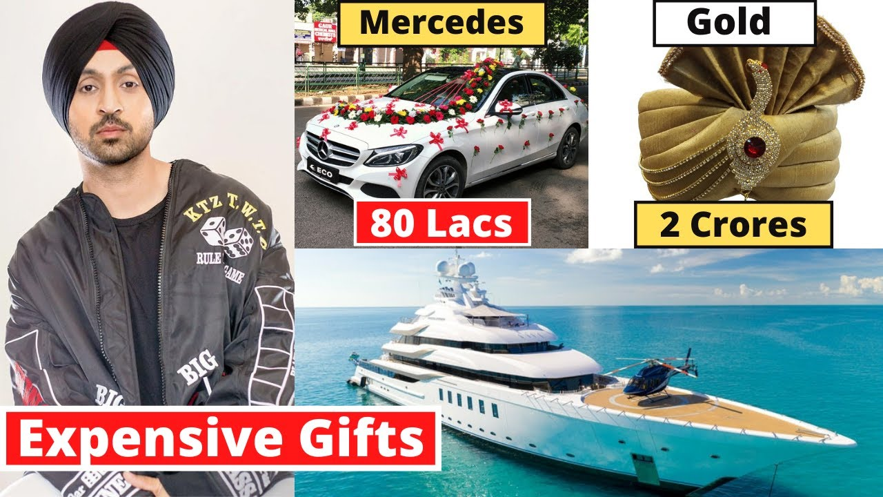 Diljit Dosanjh's 8 Most Expensive Birthday Gifts From Bollywood Stars | #happybirthday2021