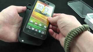 видео Чехлы для HTC One X+