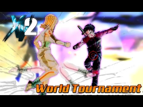 TIME SKIP KICK TO THE NUTS! Xenoverse 2 World Tournament (Avatars Only)