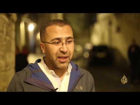 تزيين باب حطة في القدس مع حلول شهر رمضان  - نشر قبل 2 ساعة