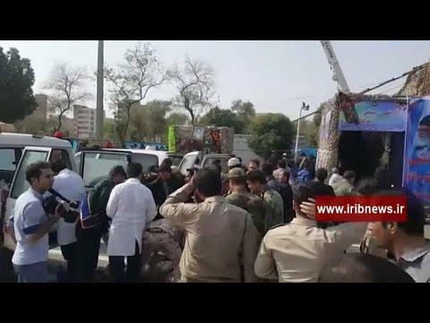 Atentado em desfile militar no Irão faz vários mortos