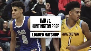IMG and Huntington Prep Go Head-To-Head in Loaded Matchup - Full Game Highlights