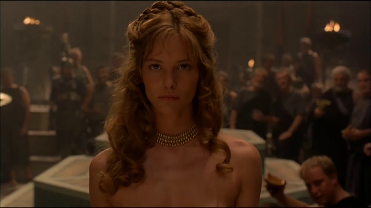 Sienna Guillory naked in Helen Of Troy  YouTube