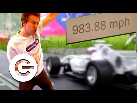 The World's Fastest Scalextric Car | Retro Gadget Show