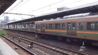 211系タカA36編成 大宮発車