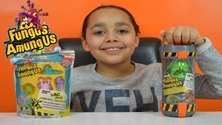 Super Gross!! Fungus Amungus Toxic Chamber | Funguy Collection | Kids Toy Review