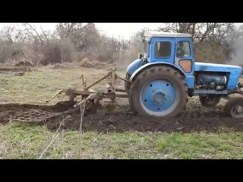 Family Life in Rural Ukraine: The Tractor and The Stork