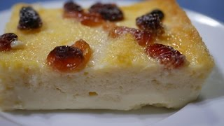 Simplest Bread and butter pudding