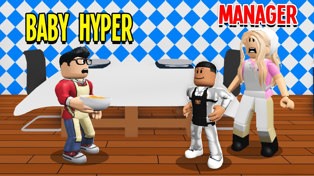 Baby Hyper Got A Job In Adopt Me.. Someone Tried To Get Him FIRED! (Roblox)