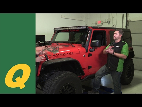 Kentrol Stainless Steel Parts for Jeep Wrangler