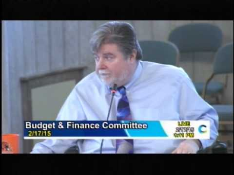 February 17, 2015 Cincinnati City Council Budget and Finance Meeting