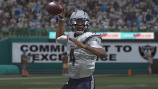 Madden NFL 15 - QB Player Franchise Ep. 8 - Week 7 at. Oakland [Rookie Season]