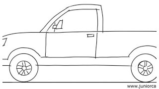 How To Draw #1 Truck!