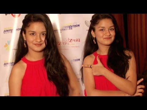Teenage Actress Avneet Kaur Supports Mumbai Juniorthon