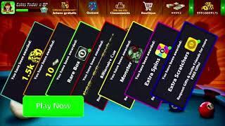 8 Ball Pool Reward Links // SPIN + Scratches +Coins   //سارع للحصول على هدايا مجانا في 8 بال بول