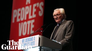 'We are the British patriots': Lord Heseltine at People's Vote rally