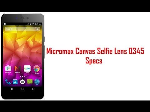 Micromax Canvas Selfie Lens Q345 Price in India