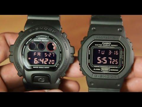 Casio G Shock Dw 6900ms 1 Vs Casio G Shock Dw 5600ms 1 Most Popular Color