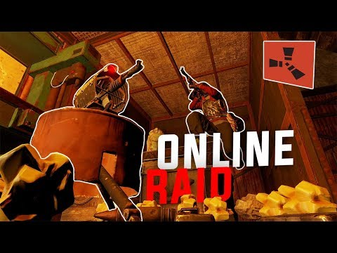 Rust - ONE V.S. THREE ONLINE RAID (Rust Solo Survival) [PART 2/2] thumbnail