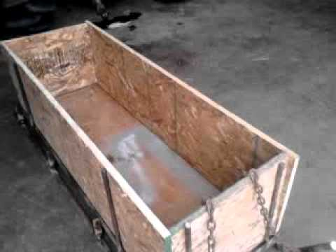 Trapping sled: DIY