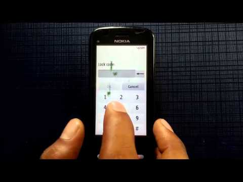 How to Hard Reset NOKIA C6 in 10 seconds!!