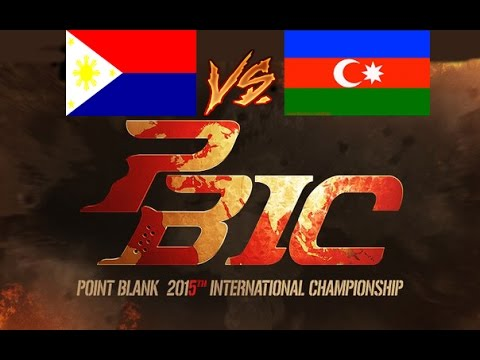 PBIC 2015 - [Philippines] ACE GAMING Vs 3D GAMERS [Azerbaijan]