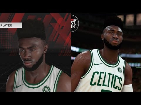 NBA 2K19 Jaylen Brown Screenshot and Rating!