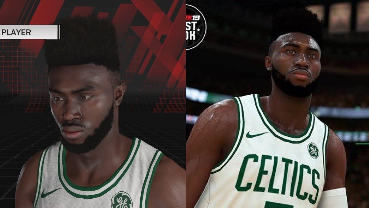 NBA 2K19 Jaylen Brown Screenshot and Rating!