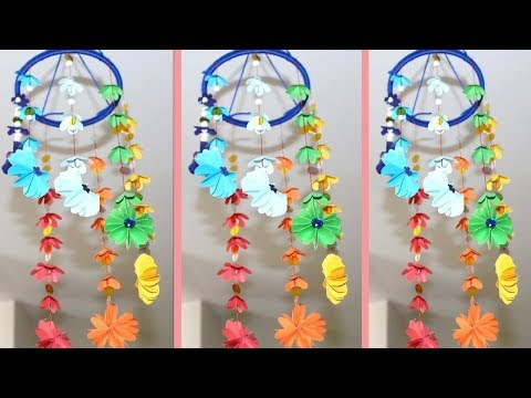 DIY Wind Chimes -  How to Make Wind Chimes Out Of Paper - Make Wind Chimes Using Paper
