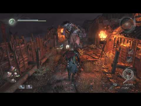 Nioh Spider Nest Castle Get to Castle Gate and Third Shrine