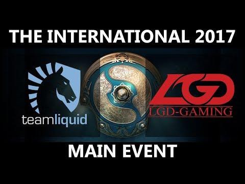 Liquid vs LGD - The International 2017 LBR5 - G2