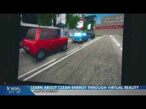 Austin Energy uses virtual reality to teach about clean energy programs