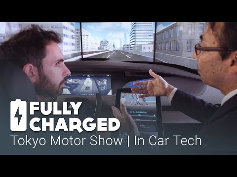 Tokyo Motor Show - In Car Technology   Fully Charged