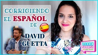 ERRORES COMUNES en español: David Guetta || María Español