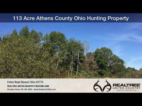 113 Acre Athens County Ohio Hunting Property