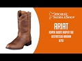 Ariat Women's Heritage Roper Boots Roper Toe Distressed Brown 0797