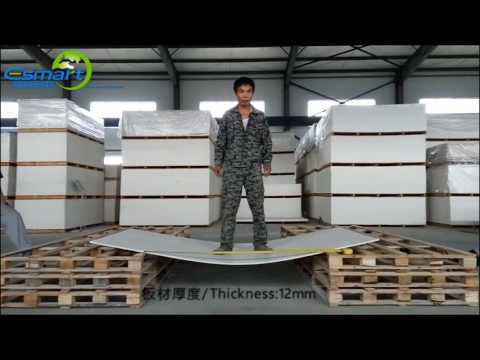 12mm E-Smart Magnesium Mineral Board Toughness Test Video
