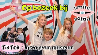 Tiktok / Instagram museum Smile Safari + interview @Hannes Vlogt