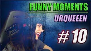 URQUEEEN FUNNY MOMENTS COMPILATION  #10 ODDSHOT [KROMKA, BONKOL, ROCK]